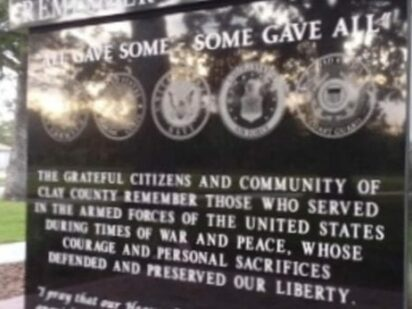 Veterans Memorial at Historic Triangle